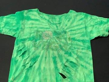 Selling A Singular Item: Camp Vega distressed tie dye t-shirt