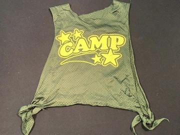 Selling A Singular Item: Camp Tank top