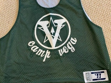 Selling A Singular Item: Camp Vega basketball tank top