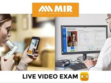 Vente avec paiement en ligne: LIVE VIDEO EXAM - Téléconsultation Respiratoire