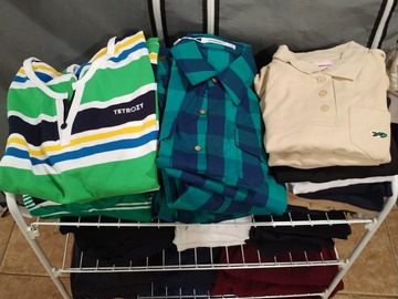 Liquidation/Wholesale Lot: 59 Pcs Lot Boys Tops Shirts Polos Tees Assorted NWT Overstock