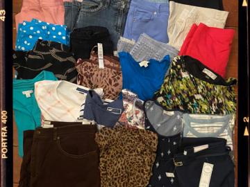 Liquidation/Wholesale Lot: Women's  Designer Lot J. Crew, Eddie Bauer, Jones NY