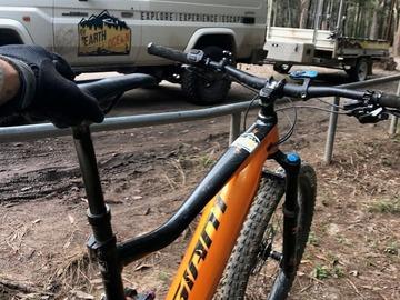 Hourly Rate: Fun Giant Trance eMtn Bike - Explore the Hinterland