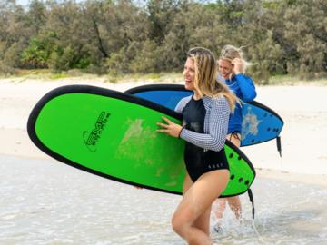 Hourly Rate: Great Beginner Surfboard in Noosa