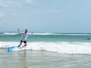 Hourly Rate: Soft + Fun + Easy to use Beginners Surfboard in Noosa