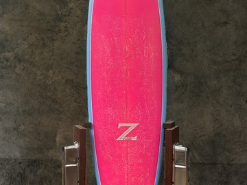 """Daily Rate: Yahoo Surfboards - Z Shapes 7'0"""" Mid Length"""