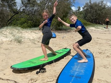 Daily Rate: Family Fun! 4 X Soft Beginner Boards - Day Rate
