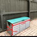 Storage/ Parking Space: 1.1m x 0.47m | Outdoor Lockable Storage Box | Three Kings