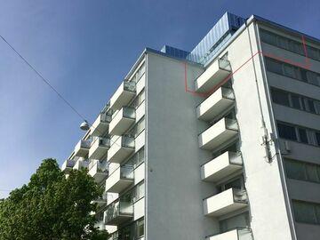 Annetaan vuokralle: Renovated penthouse apartment, Hakaniemi