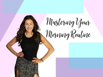 Speakers (Per Event Pricing): Master Your Morning Routine