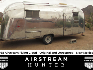 For Sale: SOLD: 1958 Airstream Flying Cloud - Unrestored