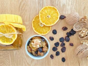 Pre-order: Orange-walnuts-raisins marmalade