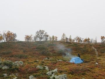 Vuokrataan (päivä): Fjällräven abisko view2 teltta