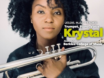 90 minute Trial Piano Lesson: 90 Minutes Total (Trial Lesson with Krystal)
