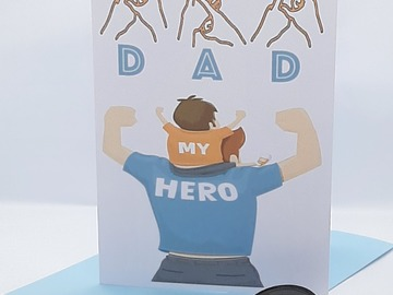 For Sale: BSL Father's Day 'DAD' Card