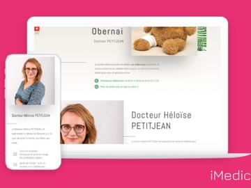 Vente avec paiement en ligne: Création de site internet pour les professionnels de Santé