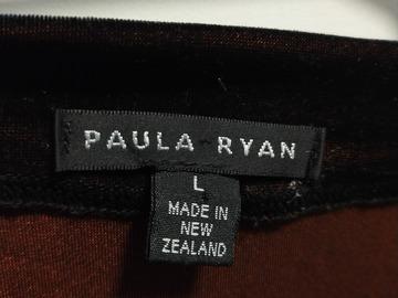 For Rent: Paula Ryan velvet top
