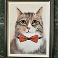 """Myydään taidetta: Akvarelli """"Mirri"""""""