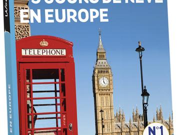 """Vente: Coffret Wonderbox """"3 jours de rêve en Europe"""" (199,90€)"""