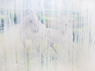 Sell Artworks: White Horse Echoes