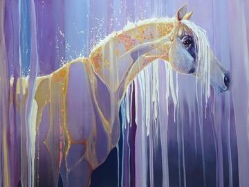 Sell Artworks: Assembling Horse