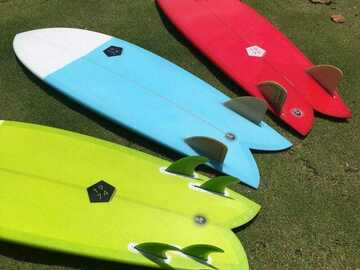 Weekly Rate: Super Cool Fish Surfboards