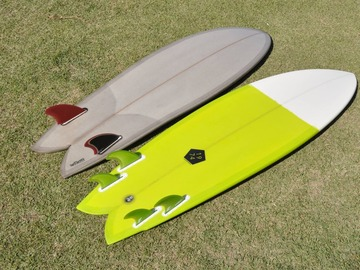 Daily Rate: Fish Surfboards - Rent for the Day Around Tweed Heads