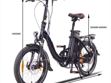 Daily Rate: Fun & Reliable! 8hr Battery Life E-Bike