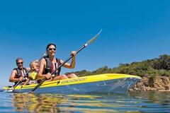 Daily Rate: Double Trouble! Double Kayak on Moreton Bay!