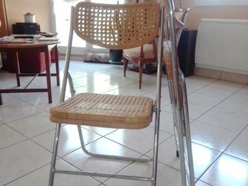 Vente: 4 chaises pliantes