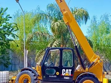 En alquiler: MANIPULADOR TELESCOPICO CAT ALQUILER