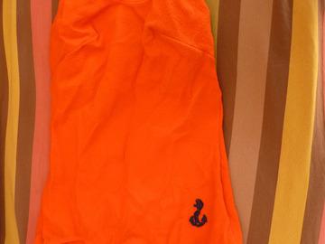 Vente au détail: maillot de bain vintage 1 pièce orange t 40