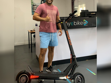 Weekly Rate: Wicked Fun E-Scooter - Tour Brissy at your own pace!
