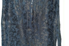 Selling: Kate Sylvester Sheer Blouse Size Large
