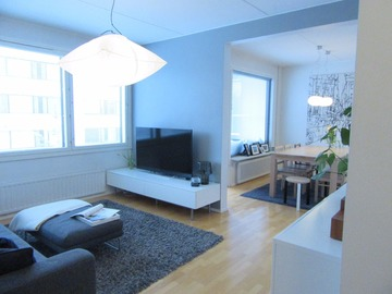 Renting out: 50,5 sq m in northern Tapiola, available 5/2017
