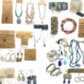 Liquidation/Wholesale Lot: 100 pieces 50 Different Name Brands Jewelry $2,500.00 Retail