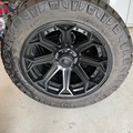 Selling: 35 inch Nitto's and 22 in Fuel Siege!