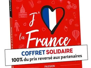 """Vente: Coffret Wonderbox """"J'aime la France Passion"""" (99,90€)"""