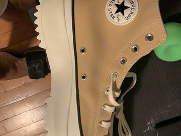 The Buyer must come to the seller's address: Converse star hike high