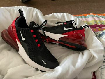 The Buyer must come to the seller's address: Nike 270