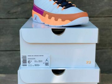 The Buyer must come to the seller's address: Jordan 9 Retro Change The World (W)