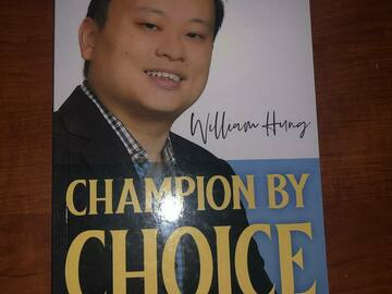 Selling: Champion By Choice by William Hung with personalized autograph
