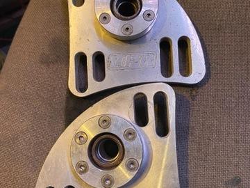 """Selling with online payment: UPR 96-04 """"THE SHARK"""" T-7075 CASTER CAMBER PLATES"""