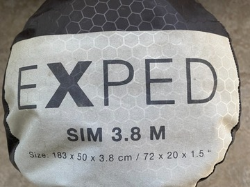 Vuokrataan (viikko): Makuualusta Exped Sim 3.8