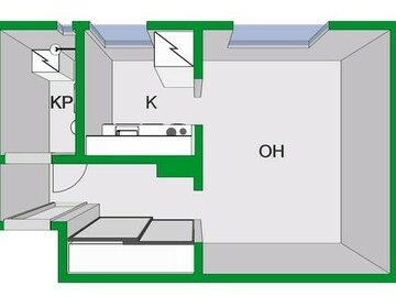 Annetaan vuokralle: A studio for rent in Konala