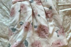 Selling with online payment: Made in Japan high end brand Rirandture floral print skirt 日本大牌印花