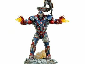 Stores: IRON STUDIOS IRON PATRIOT AND ROCKET 1/10 SCALE STATUE