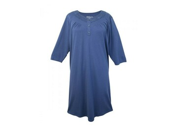 SALE: Soft Women's Lace-Trimmed Nightgown