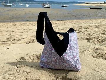 : Y&A bag Liberty TM and Blue denim