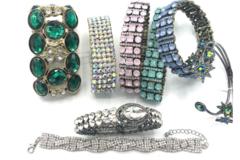 Liquidation/Wholesale Lot: 100 Boutique Bracelets Great Mix & Variety- No Repeats